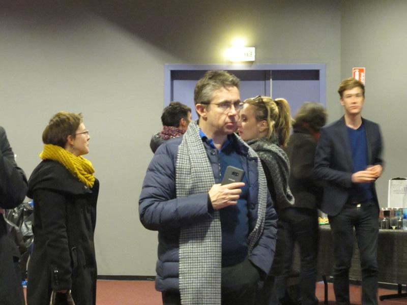 Christophe Ferrari durant la soirée des Primaires socialistes. Le président de la Métro était soutien d'Arnaud Montebourg. © Séverine Cattiaux - Place Gre'net