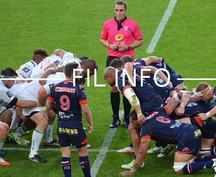 Le FC Grenoble rugby est invaincu à domicile en Pro D2. © Laurent Genin
