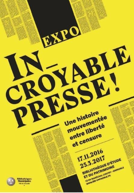 L'affiche de l'exposition © Bibliothèque d'Étude et du Patrimoine