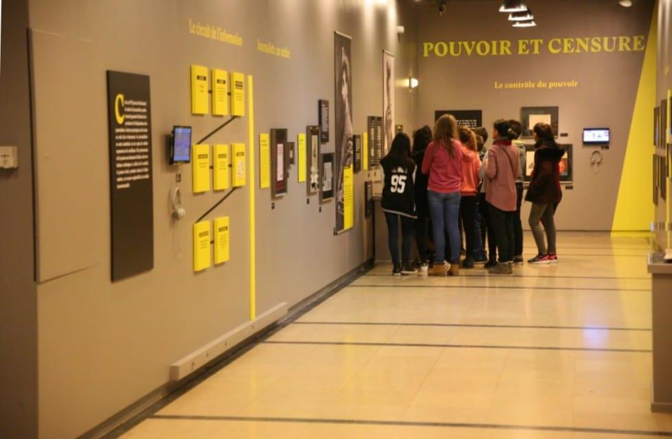 L'exposition rencontre un grand succès auprès des sorties scolaires © Florent Mathieu - Place Gre'net