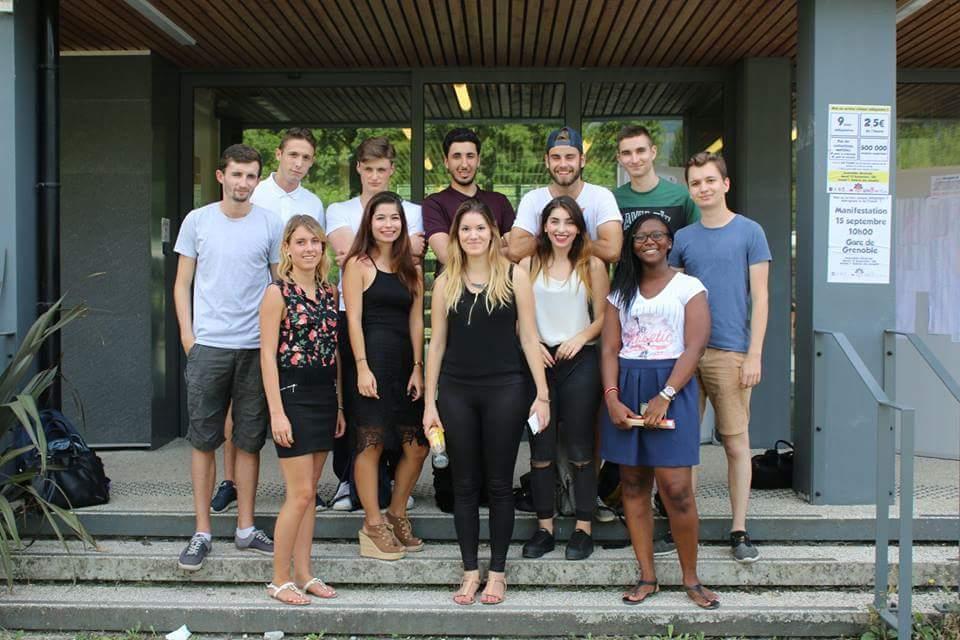 L'équipe du Bureau de vie étudiante de la faculté de Droit. Photo issue de la page Facebook du BDE. DR