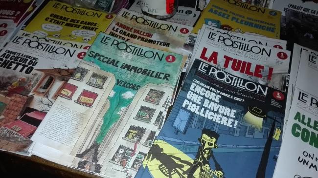 Le Postillon, parution satirique « de Grenoble et sa cuvette ». © Joël Kermabon - Place Gre'net