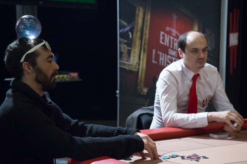 L'étape de qualification de Winamax Poker Tour à Grenoble, 8 janvier 2016. © Yuliya Ruzhechka - Place Gre'net