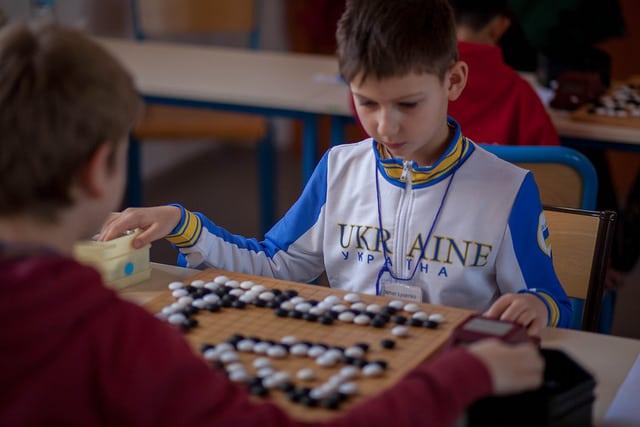"""Championnat européen des """"jeunes de Go"""", du 18 au 20 février. Photo © Olivier Dulac"""