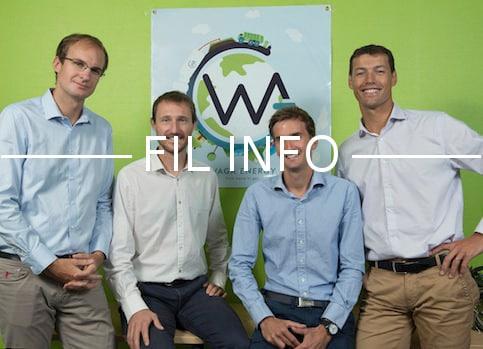 La société iséroise Waga Energy a injecté du biogaz issu de la fermentation des déchets ménagers dans le réseau de gaz naturel. Une première mondiale.