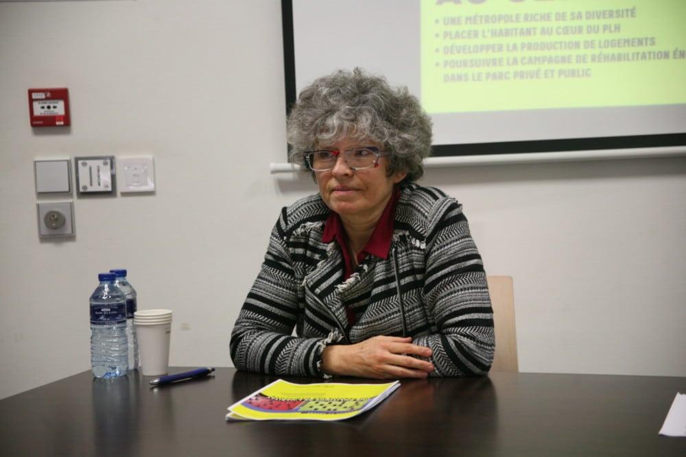 Christine Garnier, vice-présidente déléguée à l'habitat, au logement et à la politique foncière. © Florent Mathieu - Place Gre'net