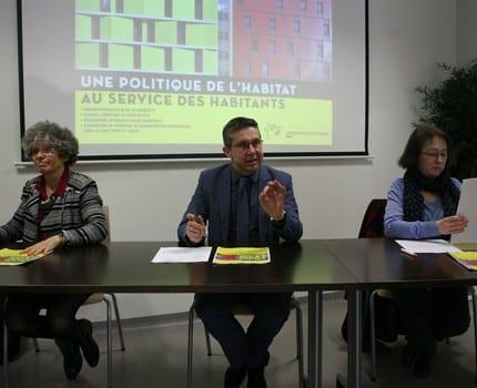 Christine Garnier Christophe Ferrari Françoise Cloteau Focus sur le Programme local de l'habitat 2017-2022 de la Métro et sur ses 1 100 logements sociaux et 6 000 réhabilitations sur l'ensemble des 49 communes.
