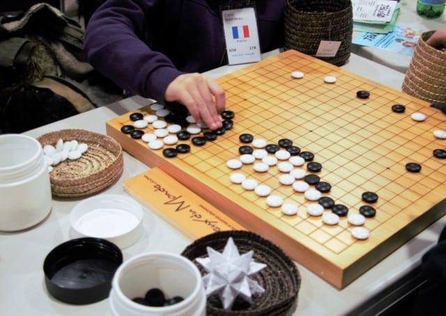 Semaine du jeu de Go, du 18 au 25 février, à la Caserne de Bonne.
