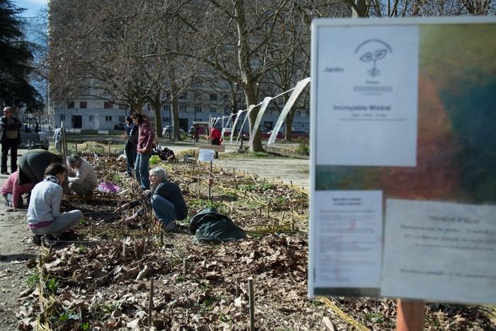 La rentrée de printemps au jardin Incroyable Mistral. © Yuliya Ruzhechka - Place Gre'net