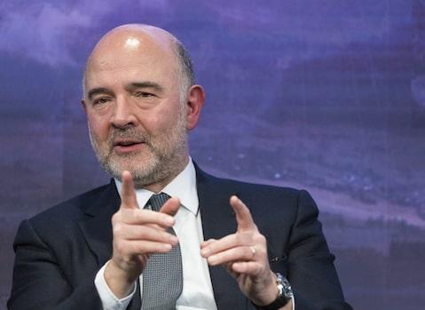 En campagne Pierre Moscovici ? Le commissaire européen, à Grenoble ce 10 février, revient pour Place Gre'net, sur les crises que traverse l'Europe.