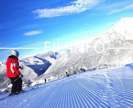 Le Critérium national de ski de bosses, pour les 10-14 ans, se déroule le 12 février 2017 dans le domaine skiable de Saint-Pierre-de-Chartreuse. © Chartreuse Tourisme - D. Mignot