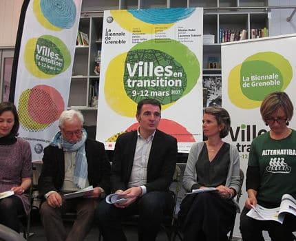 """Présentation de la première édition de la Biennale """"Villes en transition"""" à Grenoble, du 9 au 12 mars prochains © Séverine Cattiaux – placegrenet.fr"""