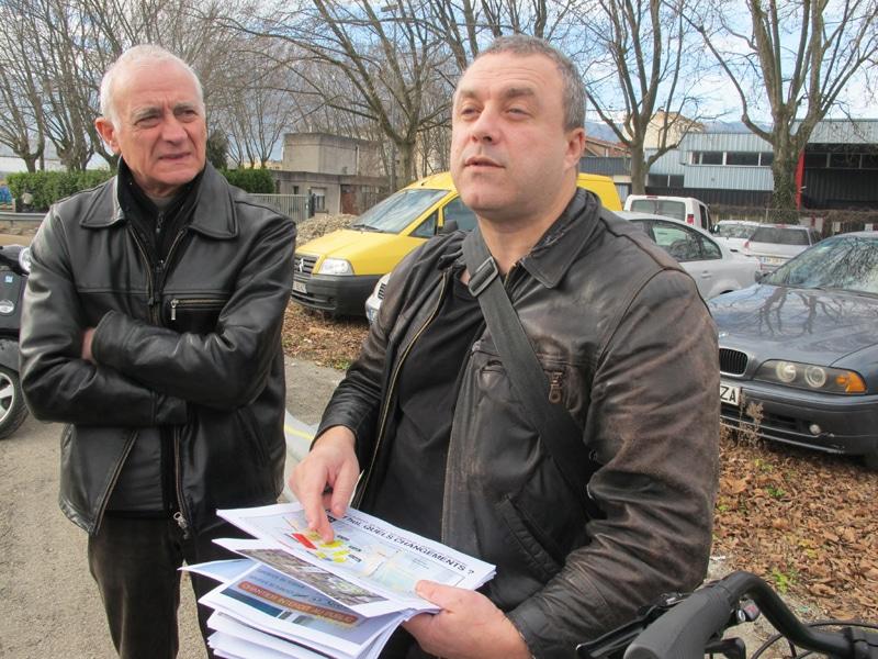 Vivre à Grenoble s'est également engagée sur le projet de la ZAC de Flaubert © Séverine Cattiaux - Place Gre'net