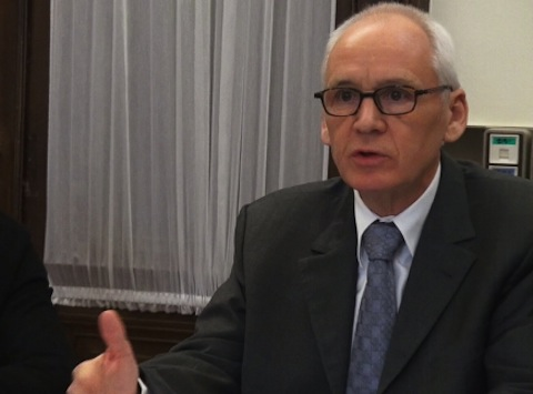 Denis Besle, président du tribunal administratif de Grenoble. Crédit Joël Kermabon