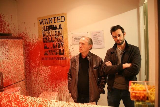 Le local des Républicains à Grenoble, une quatrième fois la cible de dégradations. Photo Florent Mathieu