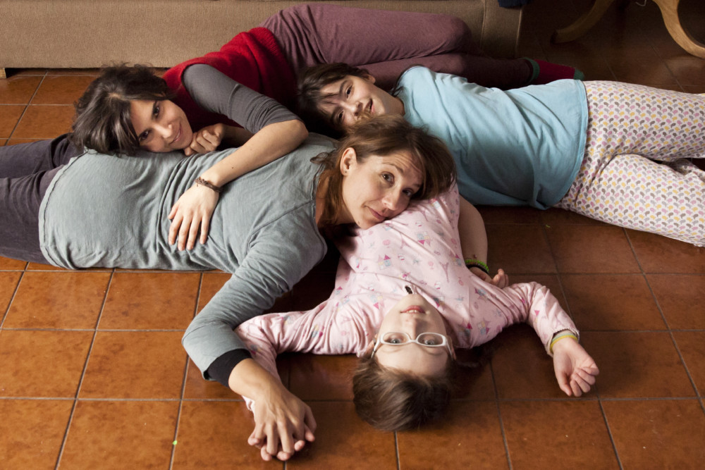 Les actrices du film Rara : Agustina Muñoz, Mariana Loyola, Julia Lübbert, Emilia Ossandón. DR