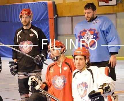 Les Yeti's de Grenoble ont vu leur saison s'arrêter le 20 mai en demi-finale du championnat de France Elite de roller-hockey, battus par les Ardennais de Rethel. © Laurent Genin