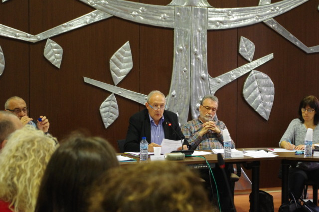 Jean-Paul Trovero maire de Fontaine, conseil municipal © Albéric Marzullo - Place Gre-Net