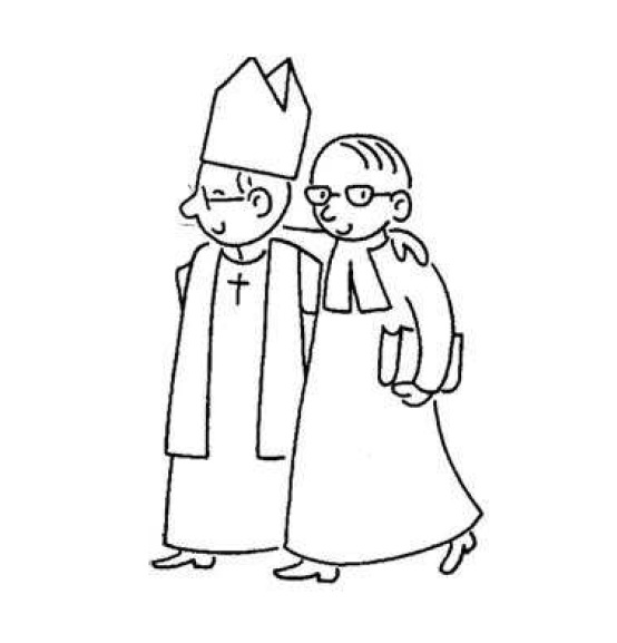 Catholicisme et protestantisme bras-dessus bras-dessous. DR