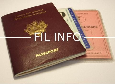 L'État réforme en profondeur les moyens de délivrance de la carte d'identité, désormais calqués sur ceux du passeport biométrique. Passeport-carte-identite-permis-de-conduire-France-DR