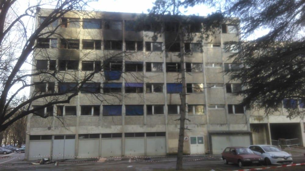 La résidence Condillac sinistrée © Florent Mathieu - Place Gre'net