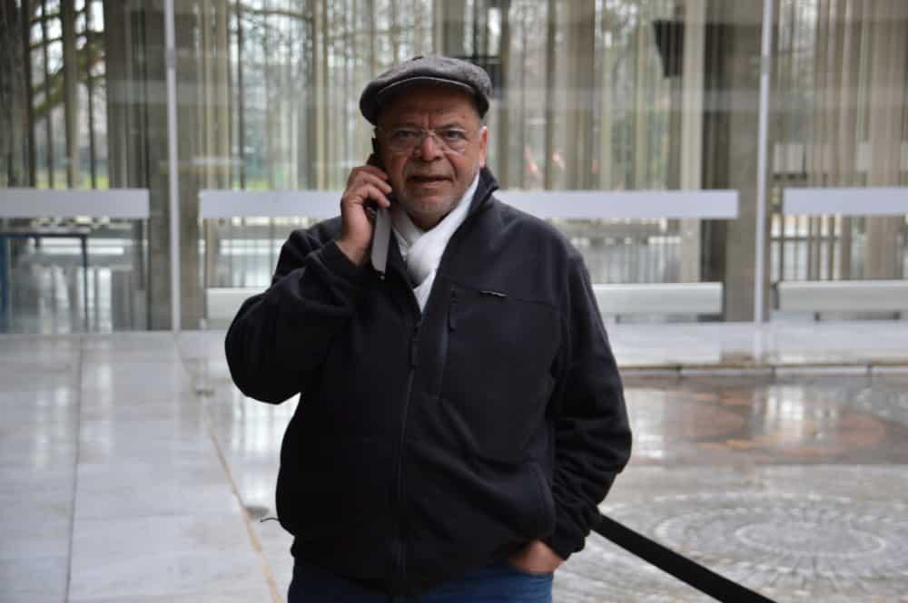 Sadok Bouzaïene, ici en 2017, a démissionné de son poste de conseiller municipal de Grenoble © Laurent Genin - Place Gre'net