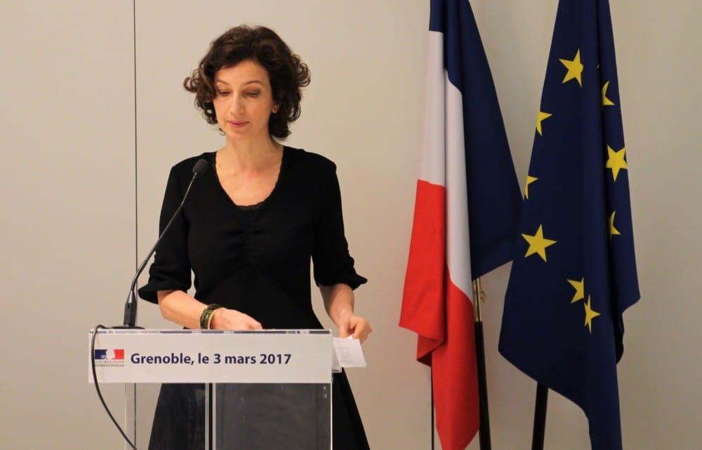 Audret Azoulay, ministre de la Culture et de la Communication © Anaïs Mariotti - Place Gre'net