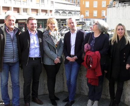 Le groupe de Matthieu Chamussy a annoncé ce 25 mars la distribution dans Grenoble de 20000 tracts dressant le bilan d'Éric Piolle à mi-mandat.