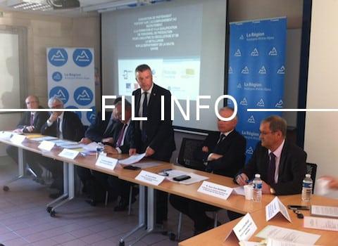 La Région Auvergne-Rhône-Alpes a signé le mercredi 15 mars, une convention pour soutenir la filière du décolletage en Haute-Savoie. @ Région Auvergne-Rhône-Alpes