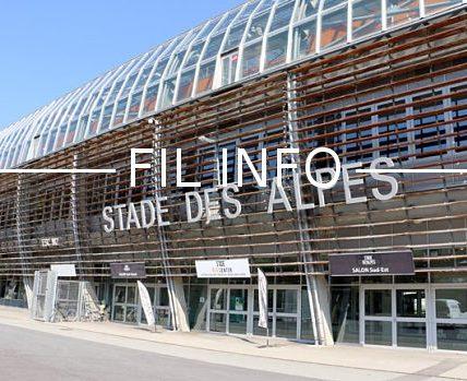 Le stade des Alpes va s'animer en juin 2019 avec des matches de la Coupe du monde de football féminin. © Éléonore Bayrou