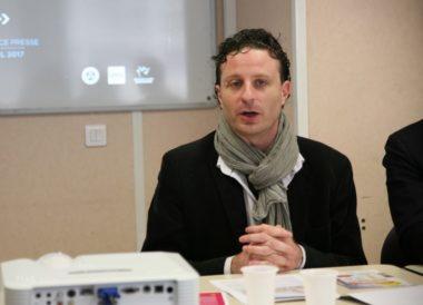 Ludovic Bustos, maire de Poisat, vice-président Métro délégué aux espaces publics et à la voirie. © Florent Mathieu - Place Gre'net