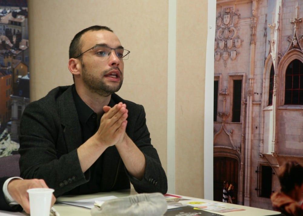 Yann Mongabura, président du SMTC © Florent Mathieu - Place Gre'net