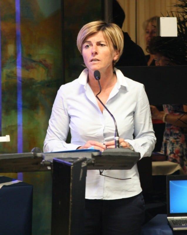 Frédérique Puissat, vice-présidente du Conseil départemental en charge de l'action sociale et des solidarités. © Florent Mathieu - Place Gre'net