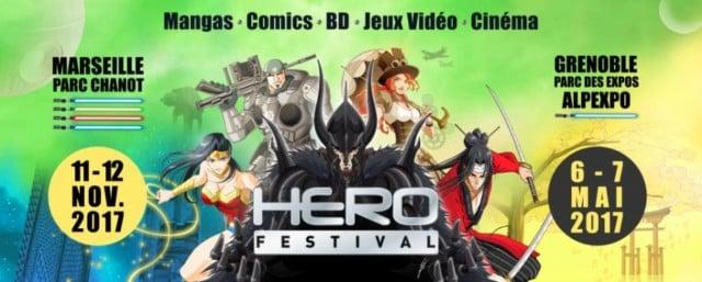 Le Hero Festival fait sont arrivée à Grenoble, après plusieurs éditions à Marseille. L'occasion de découvrir ou redécouvrir plusieurs univers fantastiques.