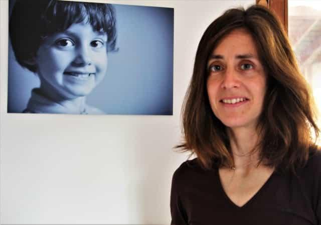Magalie Pignard et son fils en photo © Anaïs Mariotti