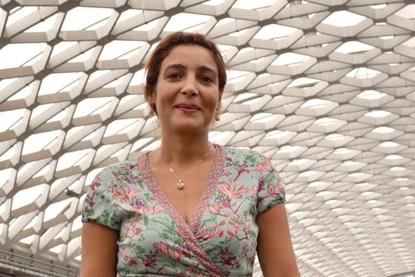 Salima Djidel, présidente du Marché d'intérêt national de Grenoble (MIN) et conseillère municipale, déléguée Restauration alimentation locale et biologique à la Ville de Grenoble. DR