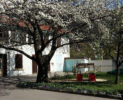 L'école maternelle à classe unique Claude Bernard, Grenoble DR