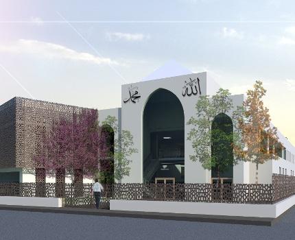 Le projet de la future mosquée de Teisseire. © AMU