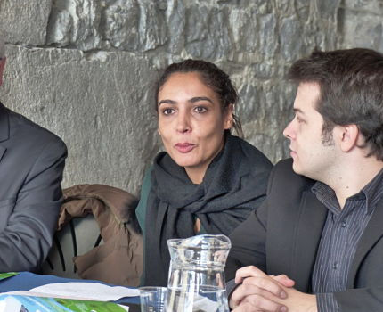Salima Djidel conseillère municipale, déléguée Restauration alimentation locale et biologique à la Ville de Grenoble Crédit Séverine Cattiaux