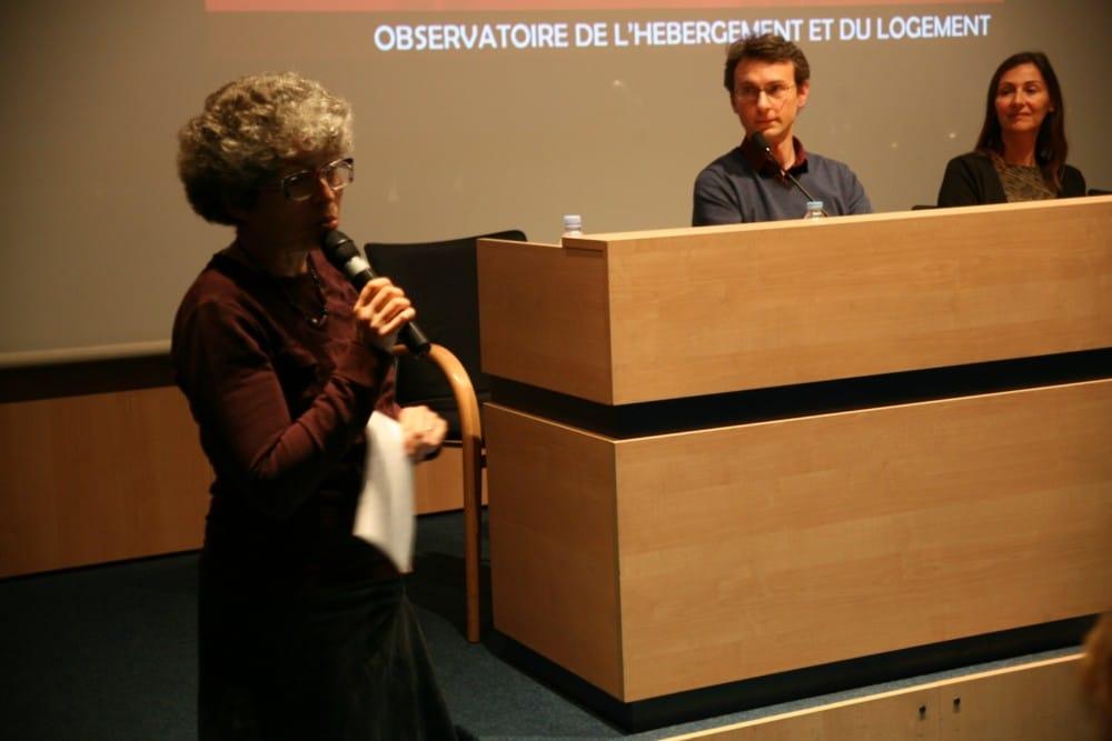 Christine Garnier, vice-présidente de la Métropole en charge du logement, a défendu le Programme local de l'habitat de la Métro © Florent Mathieu - Place Gre'net