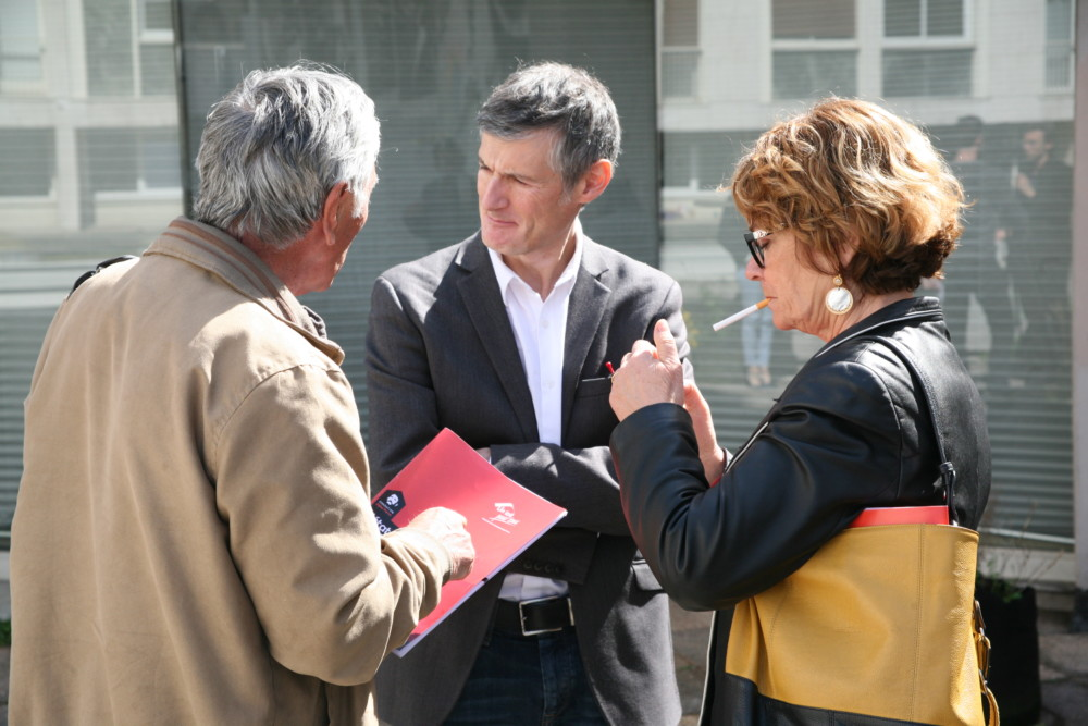 Frédéric Cesbron, directeur d'Un toit pour tous © Florent Mathieu - Place Gre'net