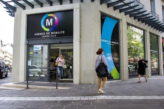 L'agence de mobilité centre-ville © Chloé Ponset - Place Gre'net
