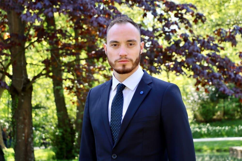 Alexis Jolly, conseiller municipal Rassemblement national d'Échirolles © DR