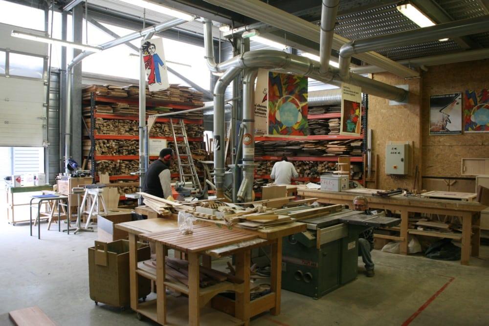 L'atelier de l'Amafi. © Florent Mathieu - Place Gre'net