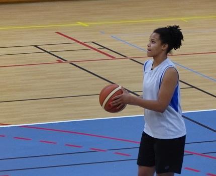 Tilise Boisseron, joueuse de la NF1 du BCTM