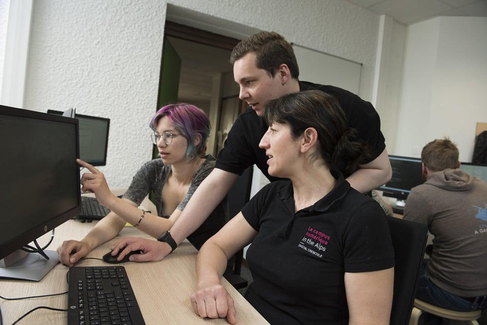 Une formation au numérique pour des publics atypiques et motivés © Edyta Tolwinska