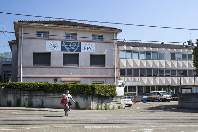 L'Établissement français du sang à Grenoble © Chloé Ponset - Place Gre'net
