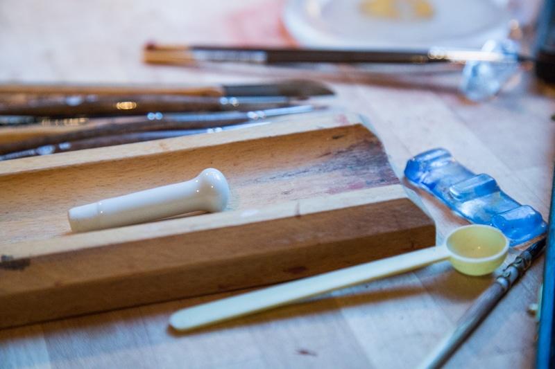 Elisabeth Lamour, peintre d'icônes. © Yuliya Ruzhechka - Place Gre'net