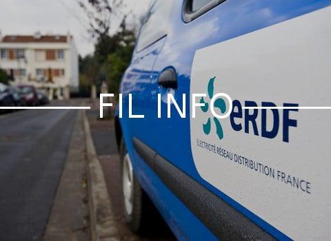 """11 véhicules d'Enedis (ex-ERDF) ont été détruits par les flammes mardi 30 mai vers 3 heures. Un acte de sabotage revendiqué par des """"anticapitalistes""""."""