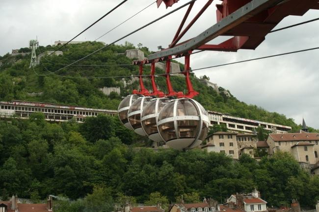 Les bulles de Grenoble reprennent du service en direction de la Bastille à partir du samedi 30 janvier. DR